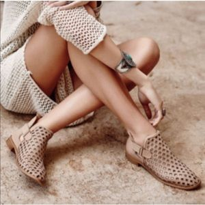 Anthro Musse and Cloud Caila perforated booties